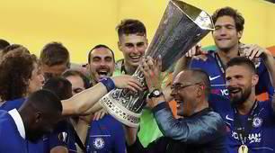 Chelsea campione: Sarri alza al cielo l'Europa League!