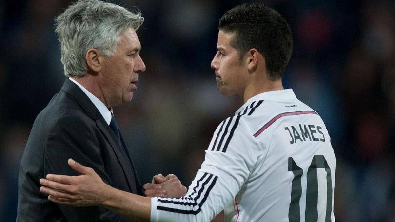 """""""L'Inter Miami vuole Ancelotti con James Rodriguez"""""""