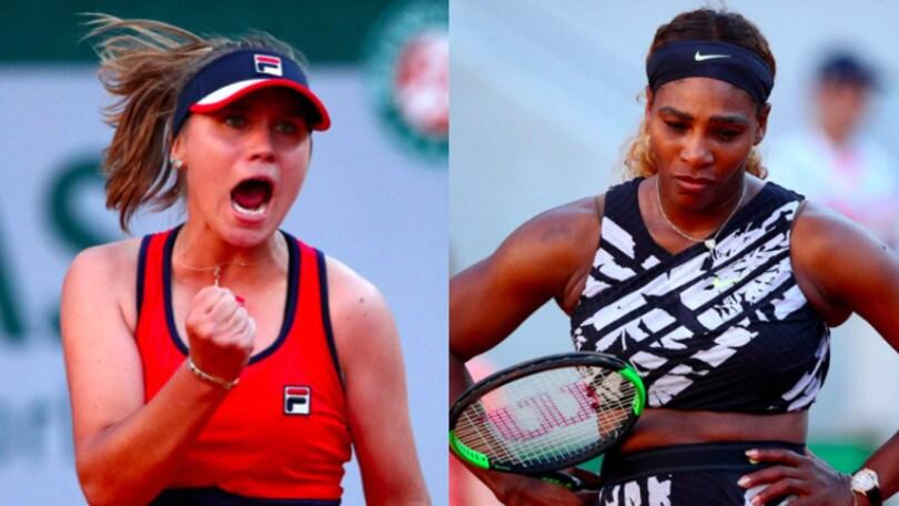 Serena Williams eliminata dal Roland Garros, Kenin agli ottavi