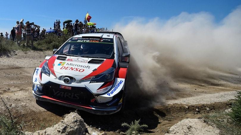 Rally di Portogallo, Ott Tanak al comando