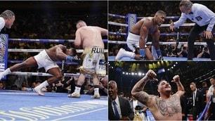 Joshua ko! Andy Ruiz è il nuovo campione del mondo dei pesi massimi