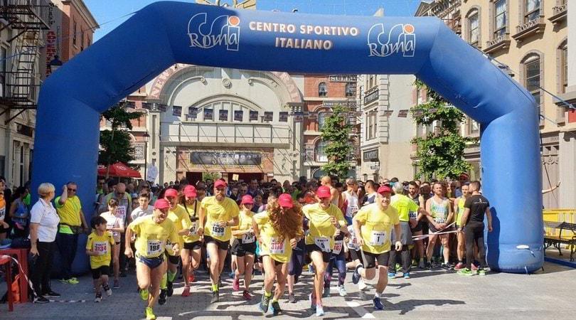 Cinecittà World Run: in 1000 corrono con Forrest Gump
