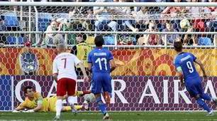 L'Italia U20 vola ai quarti con il cucchiaio di Pinamonti