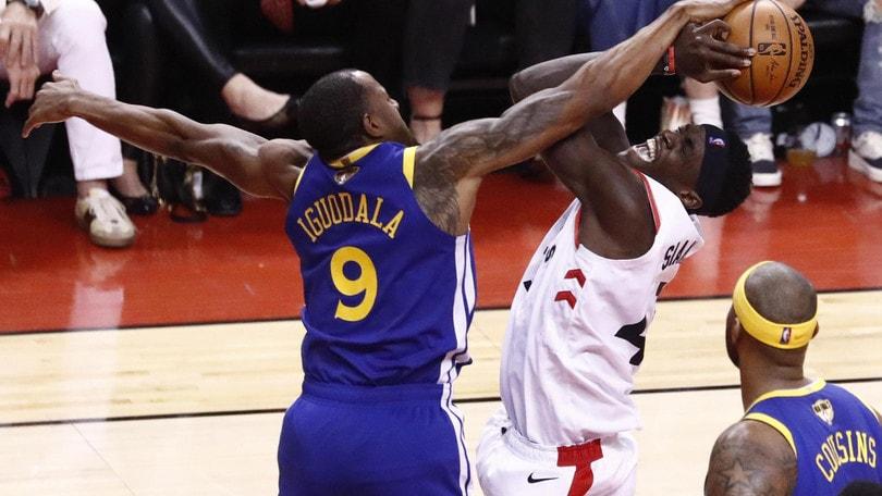 Nba Finals: rimonta Warriors, ora è 1-1 con Raptors