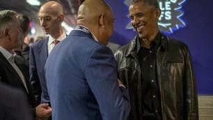 Obama a Toronto: sorpresa alle Finals NBA