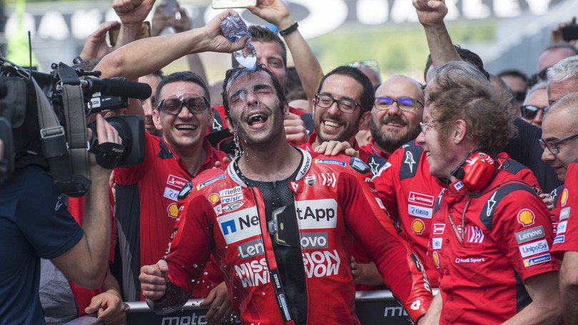 MotoGp: Petrucci sorpassa Rossi nelle quote