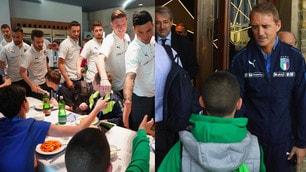 Italia, visita speciale a Coverciano: ci sono i bambini del 'Bambino Gesù'