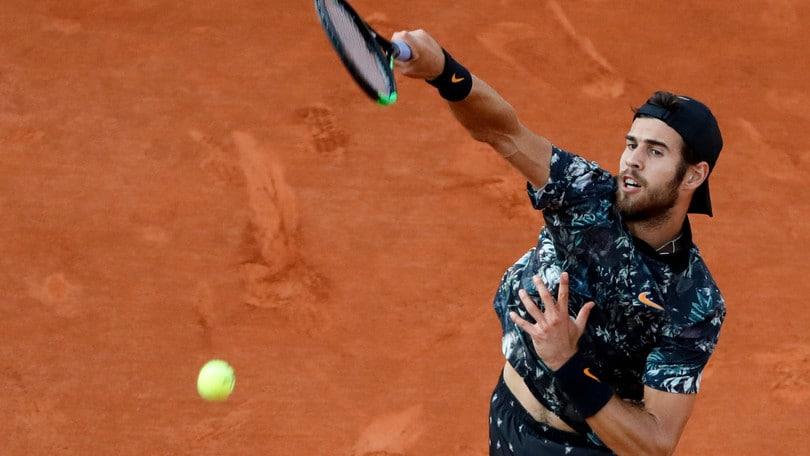 Khachanov elimina Del Potro e si prende i quarti del Roland Garros