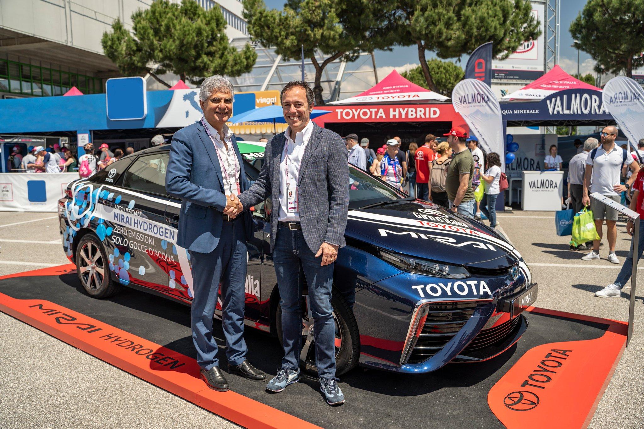 Eni e Toyota, la via rapida all'idrogeno