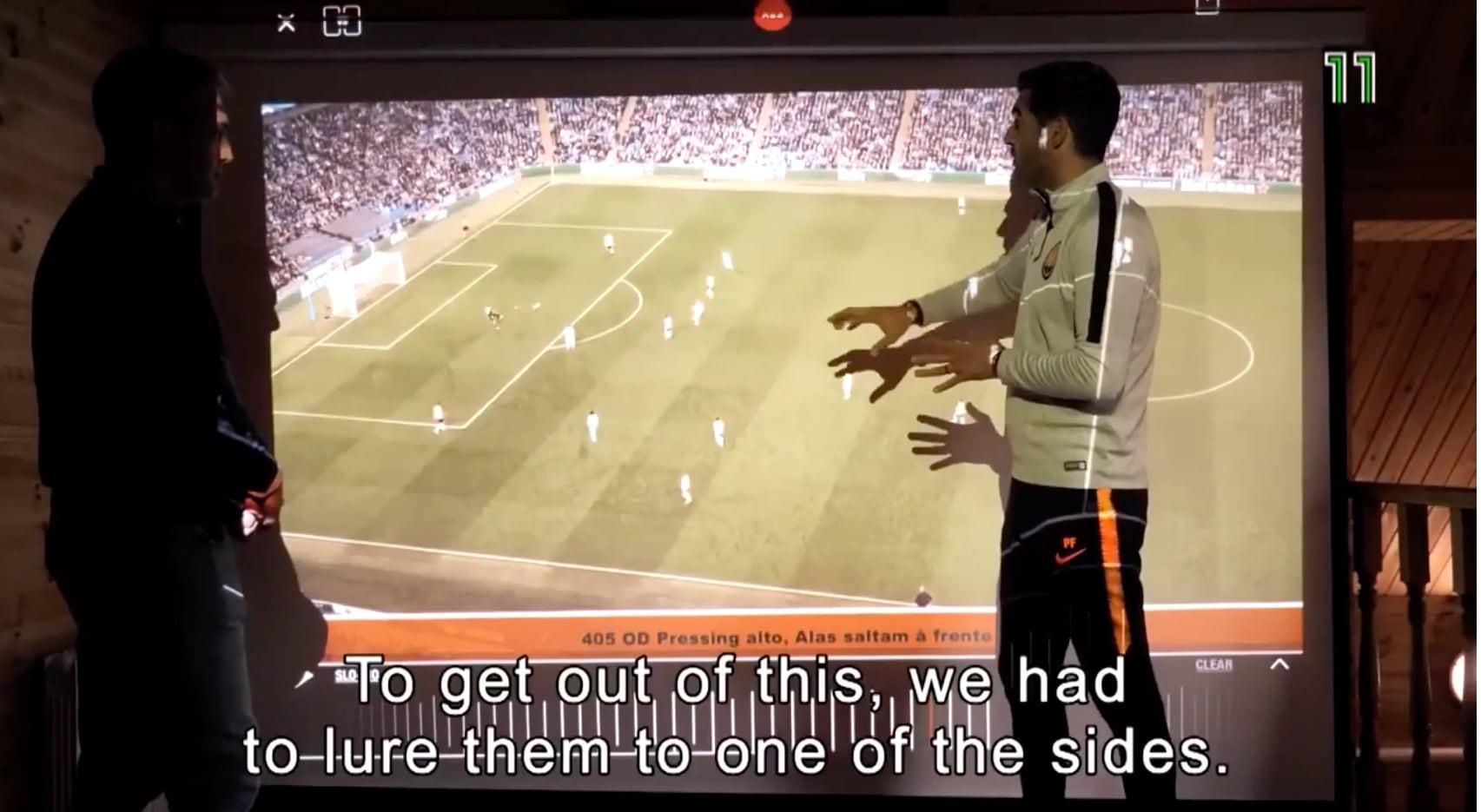 Roma, Fonseca spiega la sua filosofia di gioco al video
