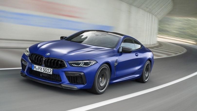 BMW M8 Competition, 625 CV per coupé e cabrio