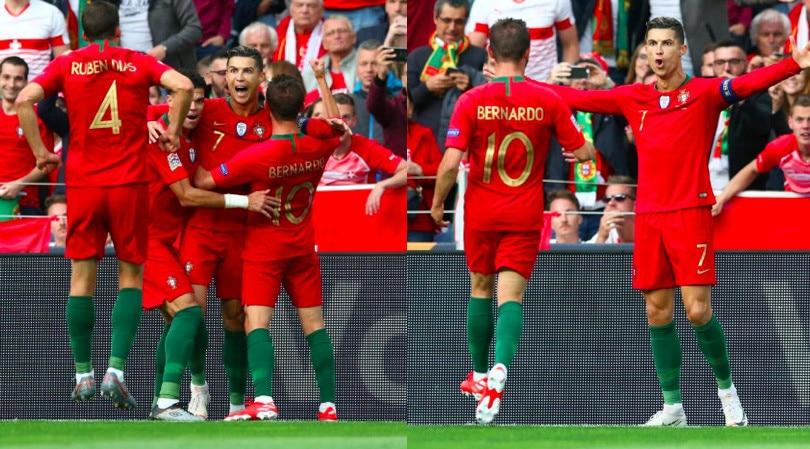 Cristiano Ronaldo show, che tripletta alla Svizzera