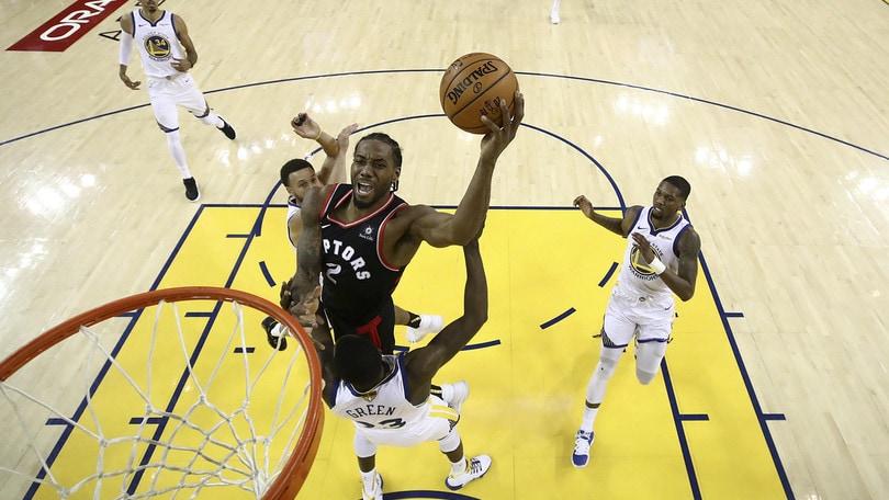 NBA Finals, Toronto travolge Golden State in gara-3: è 2-1 nella serie