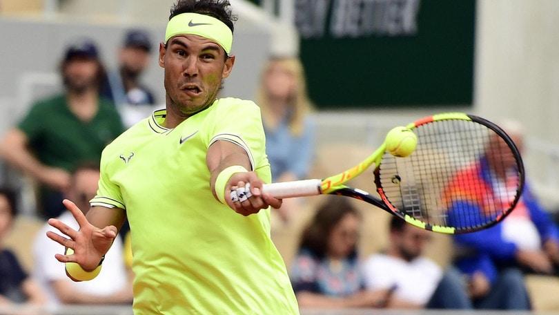 Roland Garros: quote in discesa per Nadal, colpo Federer a 6,75