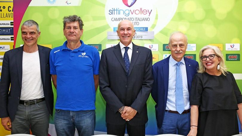 Presentate a Modena le finali del Campionato di Sitting Volley
