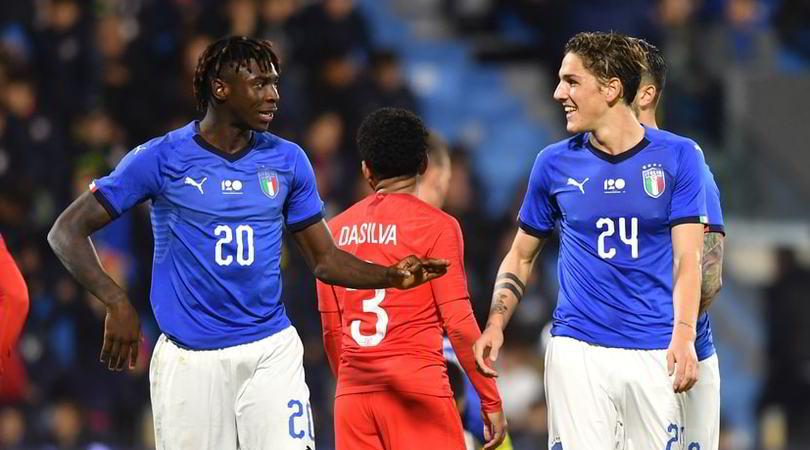 I convocati dell'Italia Under 21 per gli Europei: ci sono Kean e Zaniolo