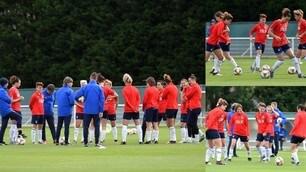 Mondiali femminili di calcio: Italia in campo per preparare l'esordio contro l'Australia