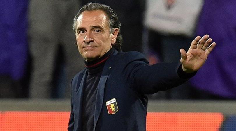 Genoa, si allontana Prandelli. Pista Andreazzoli