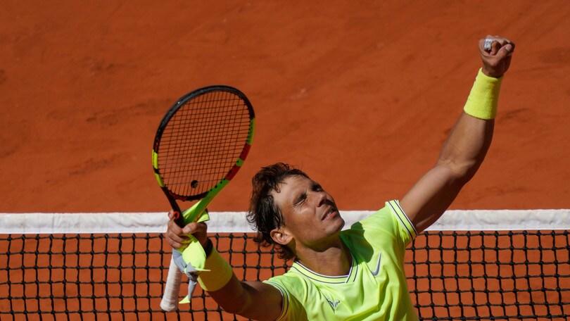 Nadal primo finalista del Roland Garros: Federer ko