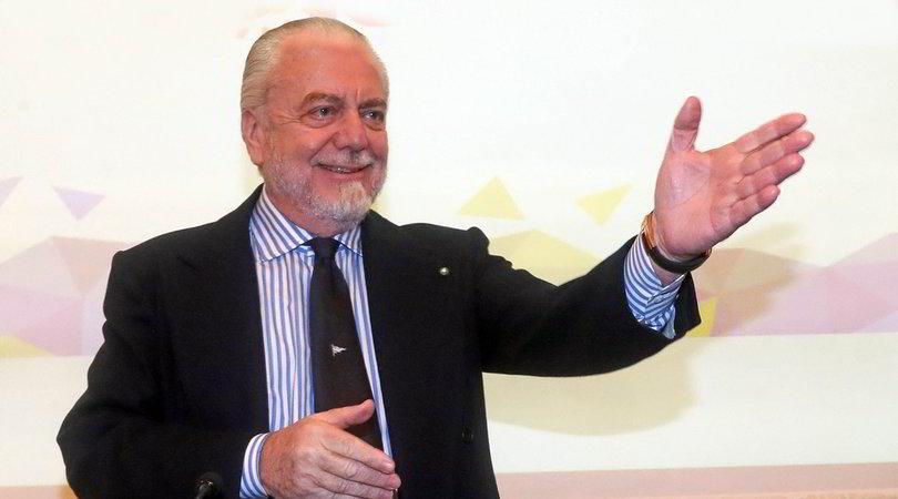 """De Laurentiis carica il Napoli: """"Inter rassegnati, mi tengo i campioni"""""""