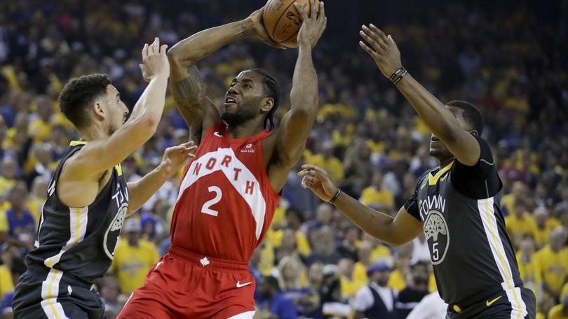 NBA Finals, Toronto in paradiso: vince ad Oakland ed è 3-1 nella serie