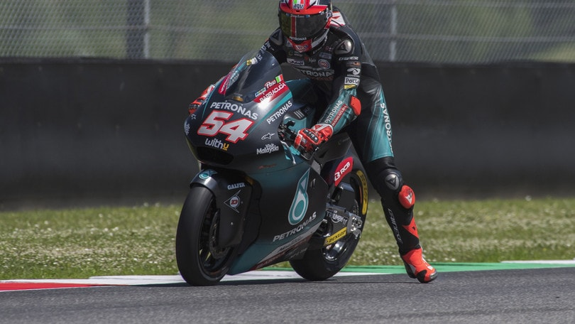 Moto2: infortunio per Pasini, torna Folger