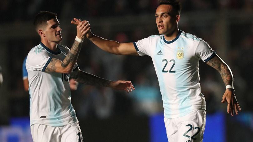 Amichevoli, Argentina: doppiette di Messi e Lautaro Martinez nel 5-1 al Nicaragua