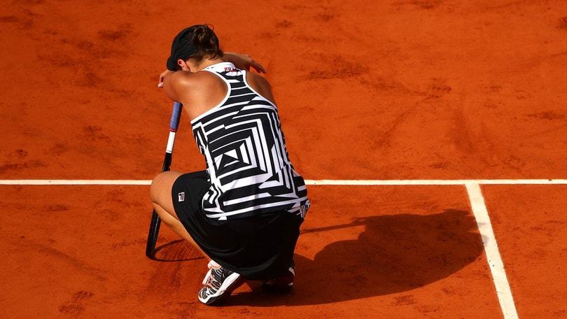 Barty conquista il Roland Garros: Vondrousova ko