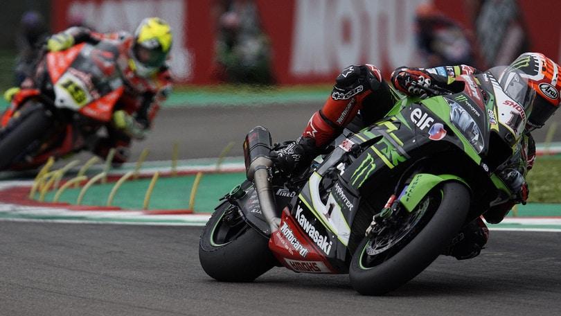 Sbk, Jerez: doppia penalità per Rea dopo l'incidente di Gara 1