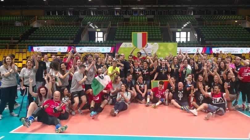 Nola e Pisa vincono il tricolore di Sitting Volley