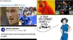 L'Italia femmminile spopola sui social: da Totti alla Bonansea