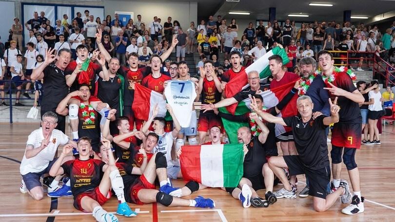 Il tricolore Under 18 di maschile è di Treviso