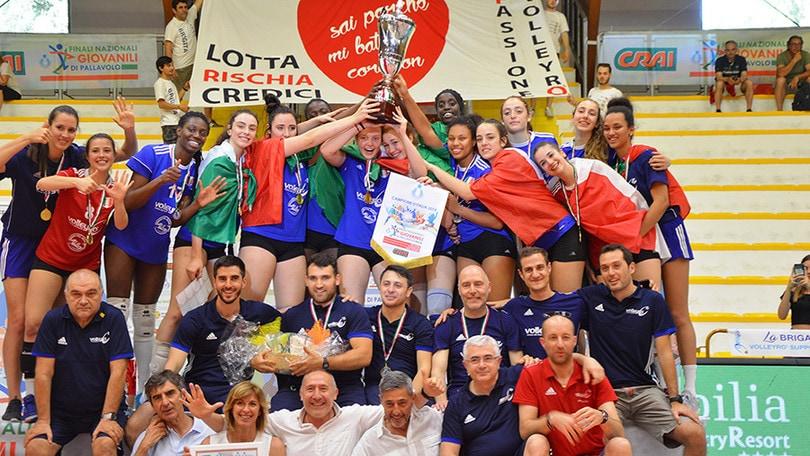 Volleyrò ancora sul tetto d'Italia: sesto scudetto consecutivo Under 18