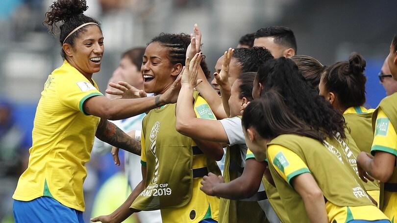 Mondiali femminili: il Brasile stende la Giamaica, Scozia ko con l'Inghilterra