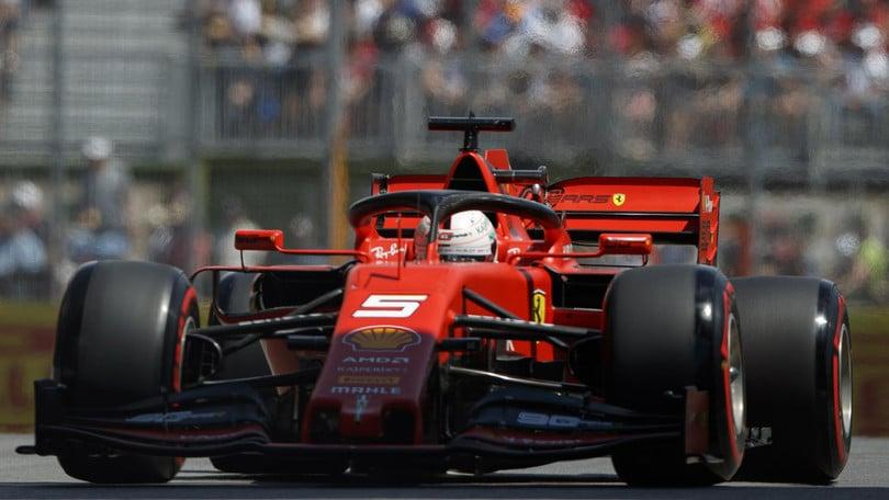 Gp Canada: Penalità di 5 secondi per Vettel, Hamilton leader virtuale
