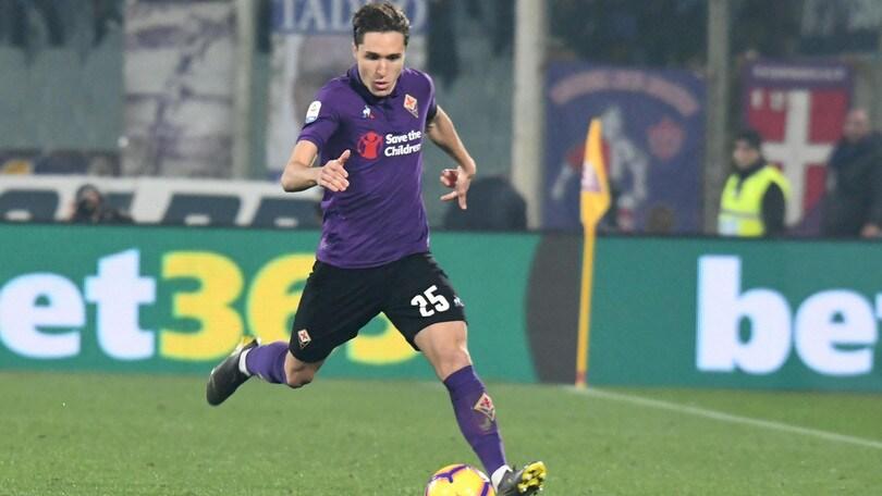 Fiorentina-Chiesa, il primo gol è di Commisso