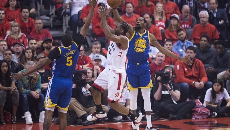 Golden State batte Toronto: si va a Gara-6 alle NBA Finals