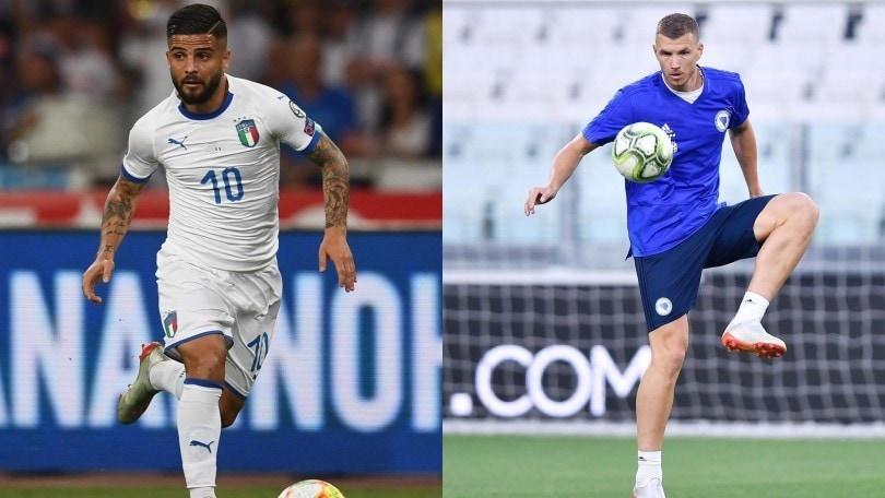 Qualificazioni Euro2020, diretta Italia-Bosnia ore 20.45: le formazioni ufficiali e dove vederla in tv