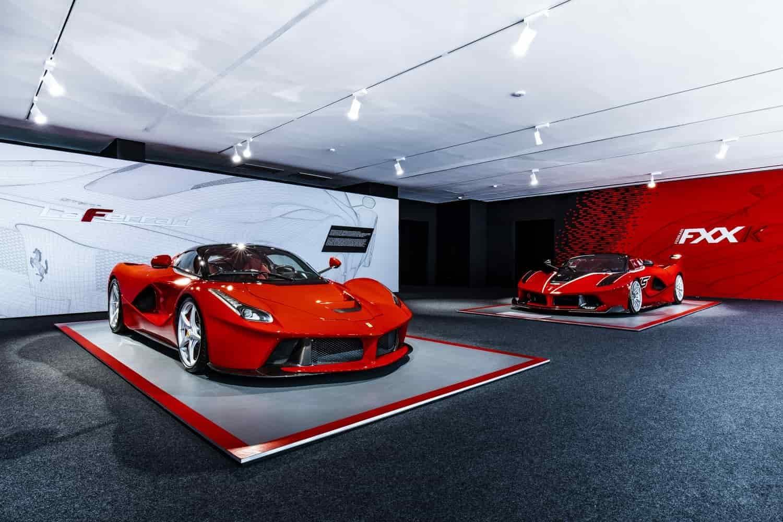 Mostre Scuderia Ferrari: 90 anni e hypercar FOTO
