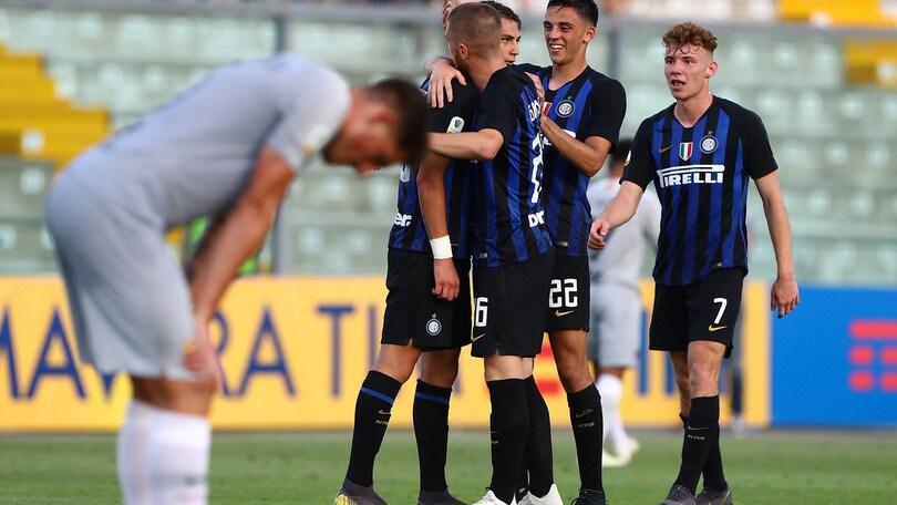 Primavera, 3-0 alla Roma: l'Inter in finale scudetto con l'Atalanta