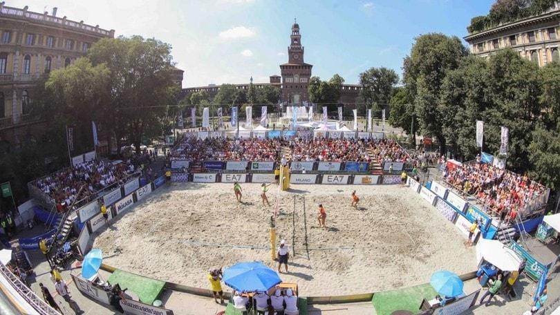 Al via a Milano il Campionato di Beach Volley