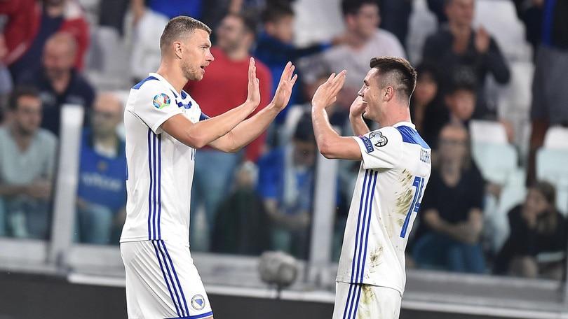 """Dzeko: """"Inter? Vediamo cosa succede dopo le vacanze"""""""