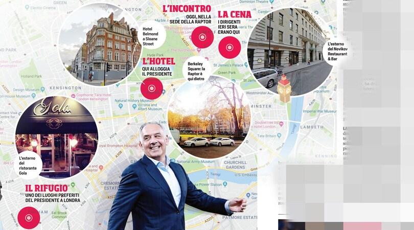 La Roma di Fonseca nasce a Londra