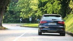 Audi A3 g-tron, metano in prova: le immagini