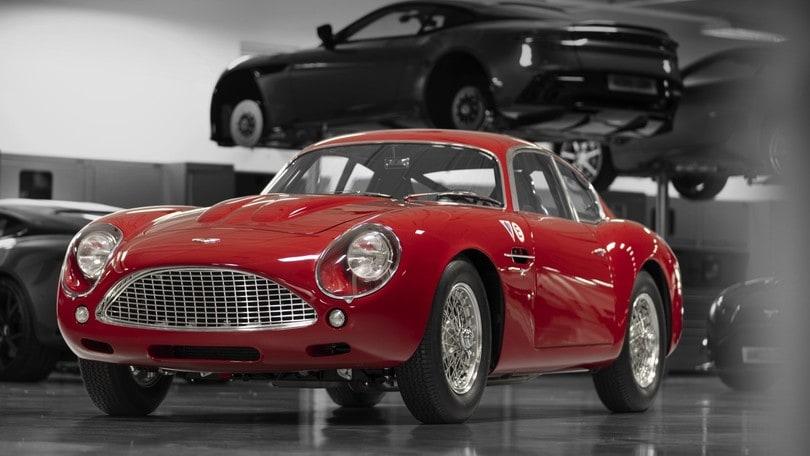 Aston Martin DB4 GT Zagato: torna la più bella del mondo