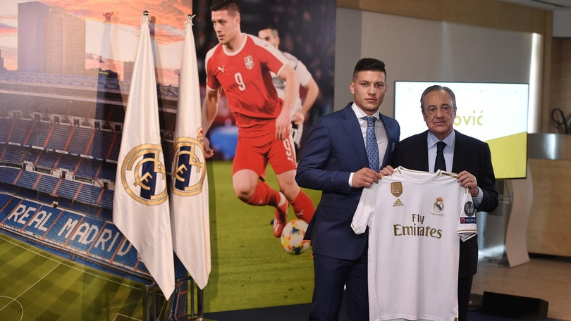 Real Madrid, Jovic: