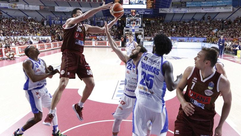 Basket: Venezia, il 2-0 su Sassari a 1,85