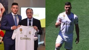 Il Real Madrid presenta Jovic al Santiago Bernabeu