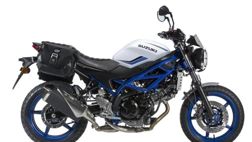 Suzuki esclusiva francese: aggiornamento SV 650