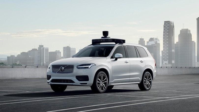 Volvo e Uber, tra dieci anni guida autonoma sulle SPA2